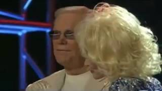 George Jones &  Dolly Parton -  The Blues Man Music Video
