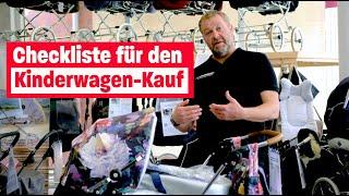 Kinderwagen gebraucht kaufen   Welche Marken überzeugen? Expertentalk