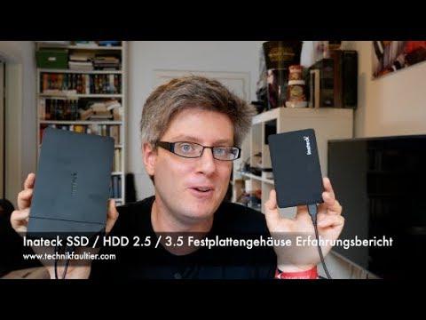 Inateck SSD & HDD 2,5 & 3,5 Festplattengehäuse Erfahrungsbericht