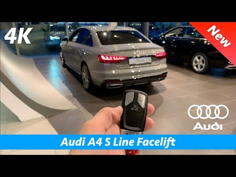 Audi A4 S Line 2020 (Facelift) - FULL in-depth review in 4K | Plus New MMI & Virtual Cockpit