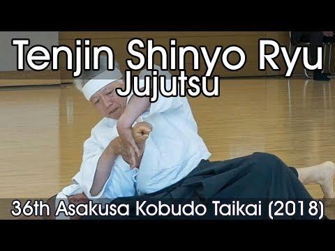 Tenjin Shinyo Ryu Jujutsu - 36th Asakusa Kobudo Taikai (2018)