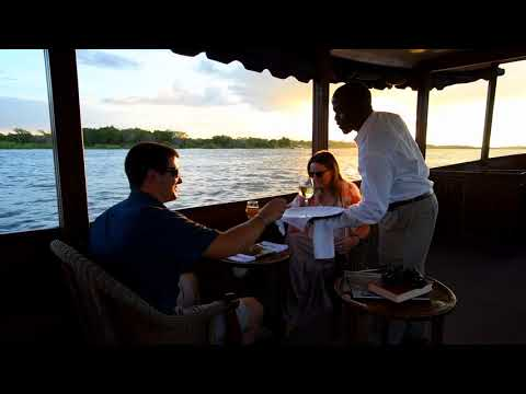 Relive the historical journey taken by David Livingstone by exploring the mighty Zambezi River aboard the Ra-Ikane. Named after his guide, the boats are full of old world charm, setting a romantic and intimate scene whilst you sit back, relax and take in the surrounding views. With a maximum of 16 seats available, the Ra-Ikane offers a unique vantage point for viewing birdlife and wildlife up-close on the islands along the river. This is unquestionably an activity to add to your bucket list when in Victoria Falls.