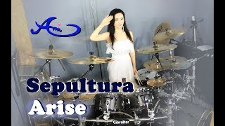 Sepultura - Arise Drum & Vocal cover by Ami Kim (35th)