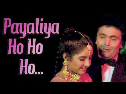 Payaliyan Oh Ho Ho Ho (HD)   Deewana Song   Rishi Kapoor   Divya Bharti   Filmigaane  90's Love Song