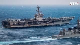 Пентагон: авианосец США «Карл Винсон» не направлялся к берегам Северной Кореи