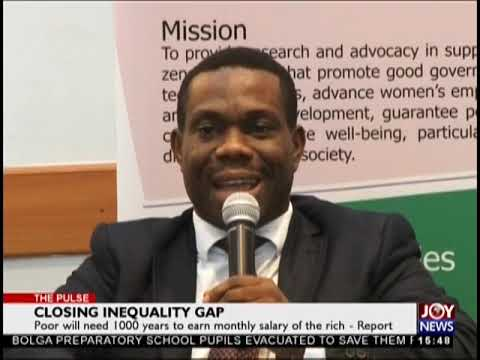 Closing Inequality Gap - The Pulse on JoyNews (19-9-18)