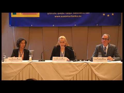 EU EOM Sri Lanka 2019 Launch press conference Oct 22 DCO address 3