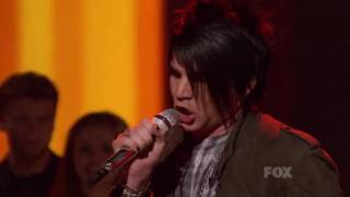 Adam Lambert- American Idol Top 36 Results (I can´t Get No) Satisfaction