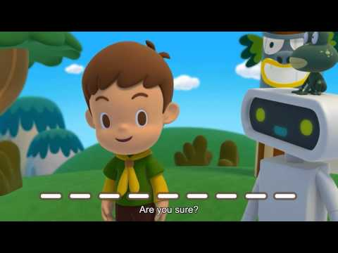 QuizLand เสือน้อยกับเจ้าหุ่นเพื่อนรัก EP03 ตอน โอม โทเทมเอ๋ย... (HD)