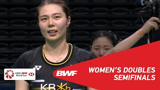 SF | WD | FUKUSHIMA/HIROTA (JPN) [1] vs KIM/KONG (KOR) | BWF 2019