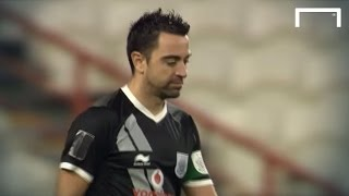 Xavi Misses Penalty In Shootout Defeat