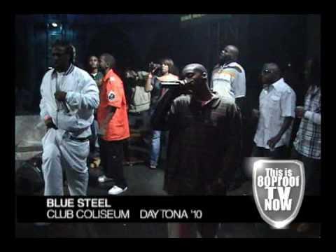 "Blue Steel Performing at Club Coliseum Daytona Beach FL '10 ""TRAVIS PORTER OPENER"""
