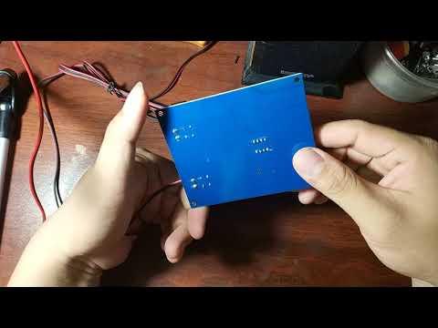 Test mạch khuếch đại âm thanh 3116 kèm blue 4.1
