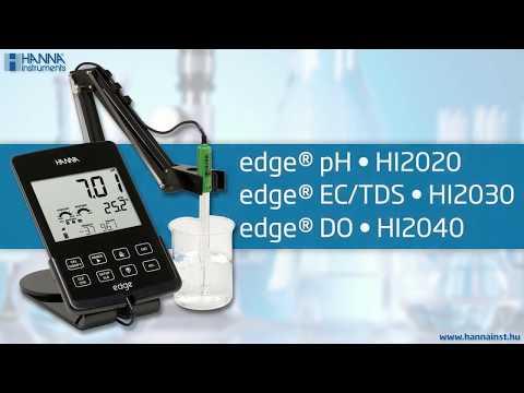 HI 2040 edge® Oldott oxigén mérő