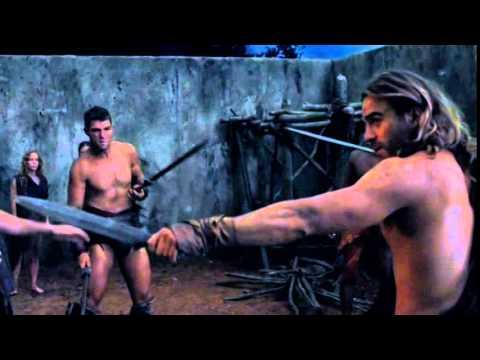 Gannicus vs Spartacus