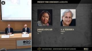 Laureates Announced 2017