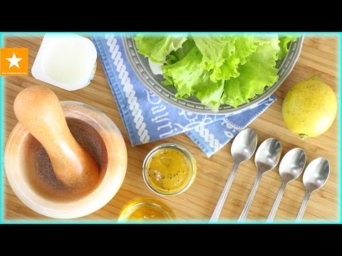 ★ ЗАПРАВКА ДЛЯ САЛАТА, которую я искала всю жизнь ★ Медово-горчичный соус от Мармеладной Лисицы ★