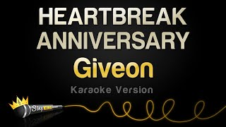 Giveon - HEARTBREAK ANNIVERSARY (Karaoke Version)