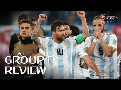 Croatia and Argentina progress - Group D Review!