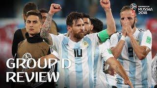 Croatia and Argentina progress - Group D Review!