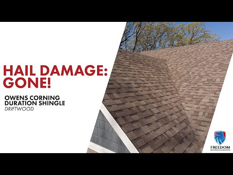 Warrenton, MO home gets their hail damaged roof replaced!