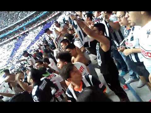 """""""Recibimiento Clasico 108 La Adiccion"""" Barra: La Adicción • Club: Monterrey"""