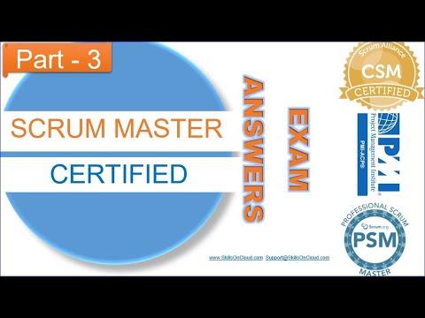 Scrum Master Exam Answers part-3 - YouTube