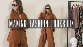 How To Make A Video Lookbook Like The Fashion Bloggers Do?👗 Filming A Set Of Looks