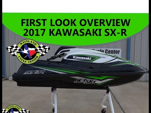 $9,999:  2017 Kawasaki SX-R Stand Up Jet Ski Overview and Review