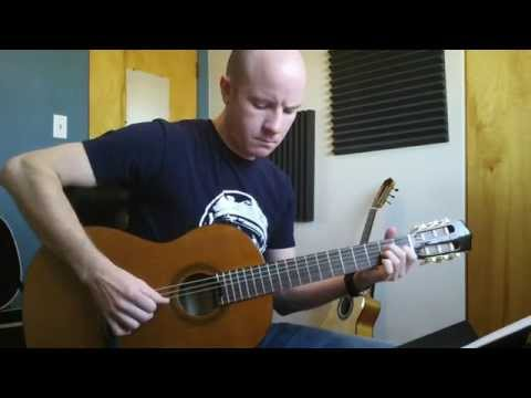 Radiohead: How to play -- High And Dry (for classical guitar)