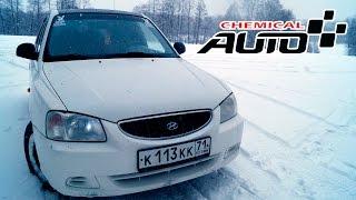 Hyundai Accent - самый полный обзор, испытания снегом.