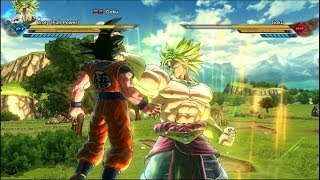 #2 Goku Vs Broly ( Dragon Ball Z: The Legendary Super Saiyan Reborn ) -DBXV2