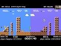 Super Mario Bros TAS vs RTA World Record 456878 by darbian