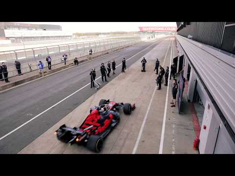 Max Verstappen Unleashes the RB15 at Silverstone