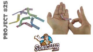 Sonic Micro Boomerang - SonicDad Project #25
