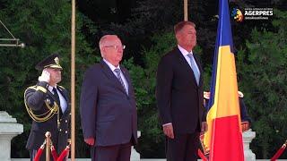 Preşedintele Statului Israel a fost primit de către Klaus Iohannis la Palatul Cotroceni