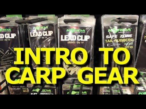 How to catch carp – Introduction to carp fishing gear -carp kit -Tackle Den