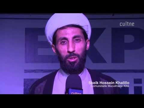 Hossein Khalillo - Segmento Muçulmano Xiita-Depoimento sobre a importância da Expo Religião