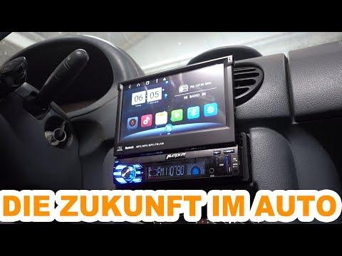DIE ZUKUNFT IM AUTO 🛠 PUMPKIN DIN1 AUTORADIO ANDROID 8.1 🛠 #MRODIT #PUMPKIN #AUTORADIO