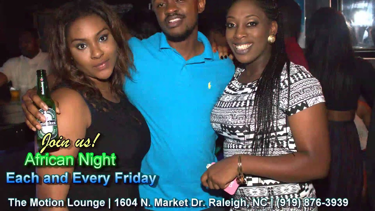 African Night every first Friday @ The Motion Lounge