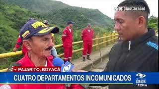 Cuatro departamentos incomunicados por puente a punto de colapsar
