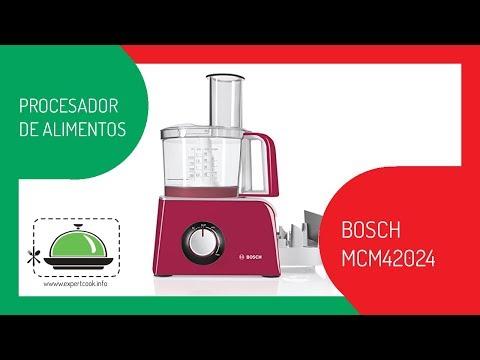 Ficha técnica del procesador de alimentos Bosch MCM42024