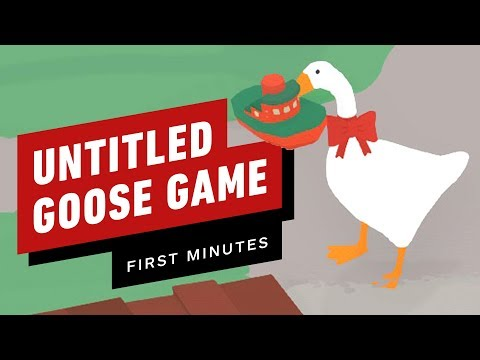 The First 11 Minutes of Untitled Goose Game - Gameplay thumbnail