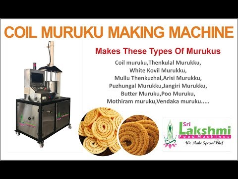 Coil Murukku / Chakli Making Machine ( Economy )