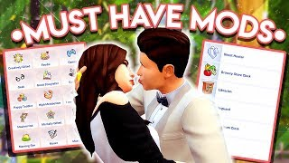 MUST HAVE MODS FOR REALISTIC GAMEPLAY || The Sims 4 - Most Popular