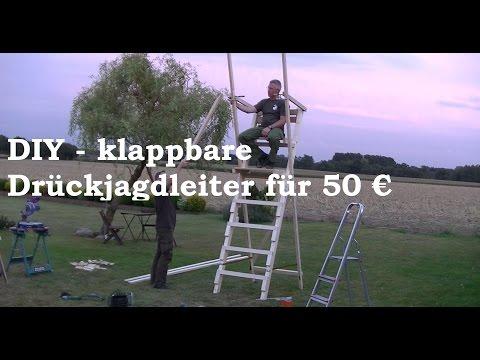 DIY #1 Bauanleitung Ansitz- und Drückjagdleiter für Jäger