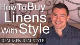 Style & Sheets - A Mans Guide To Bed Linen - How To Buy The Right Bedding - Vero Linens