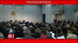 Pressekonferenz  anlässlich der XV. Ordentlichen Generalversammlung der Bischofssynode  20181020