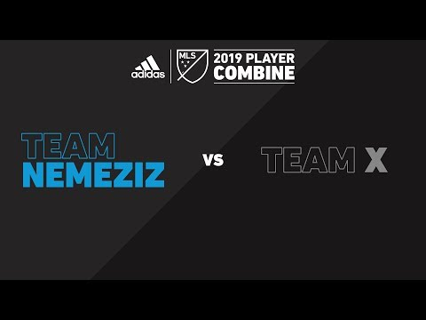 Team Nemeziz vs. Team X | adidas MLS Combine 2019