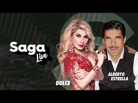 Dulce y Alberto Estrella con Adela Micha